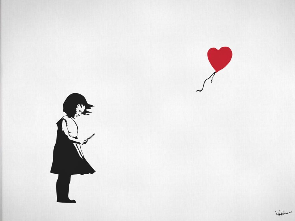 Balloon-Girl-Heart