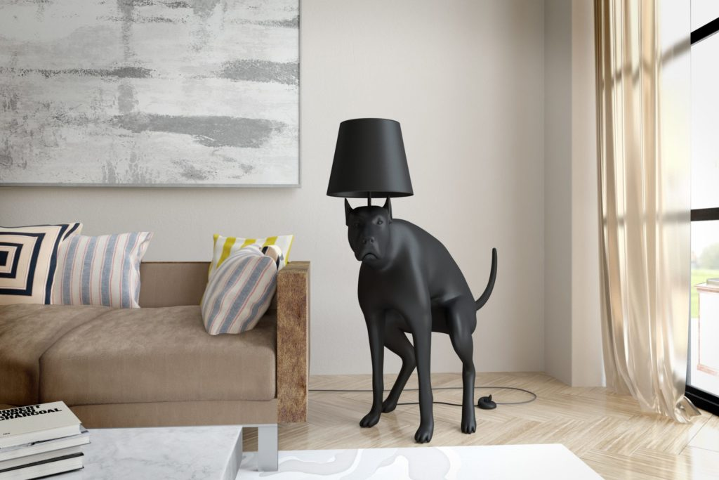 Artist Designer Based In London UK Good Boy Floor Lamp