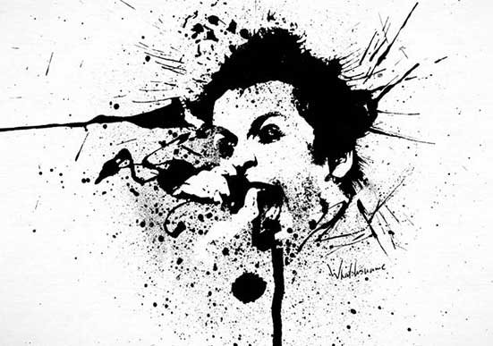 Splat Painting Billie I