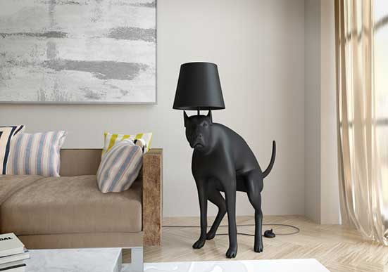 Good Boy Floor Lamp