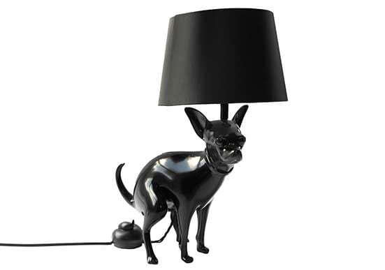 Good Puppy Table Lamp