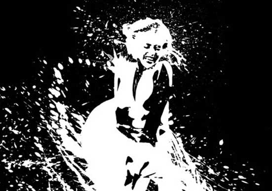 Splat Painting – Marylin