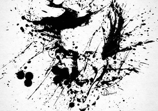 Splat Painting – Mike Dirnt