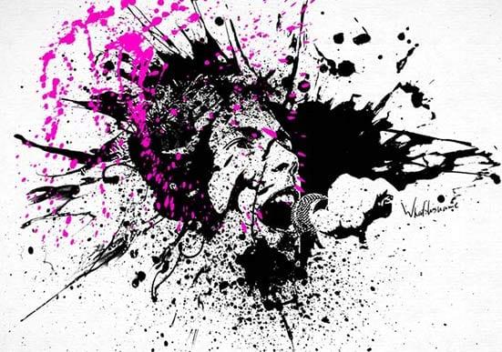 Splat Painting – Sex Pistols