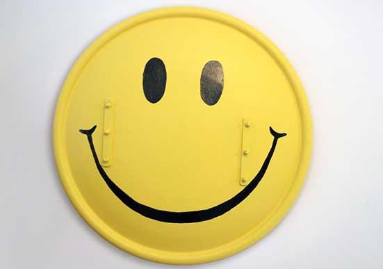Riot shield Smiley Face