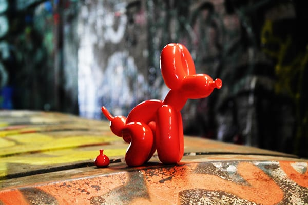 POPek Red Small 12 cm statue
