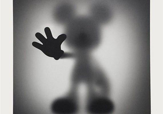 Gone Mickey – Giclée print