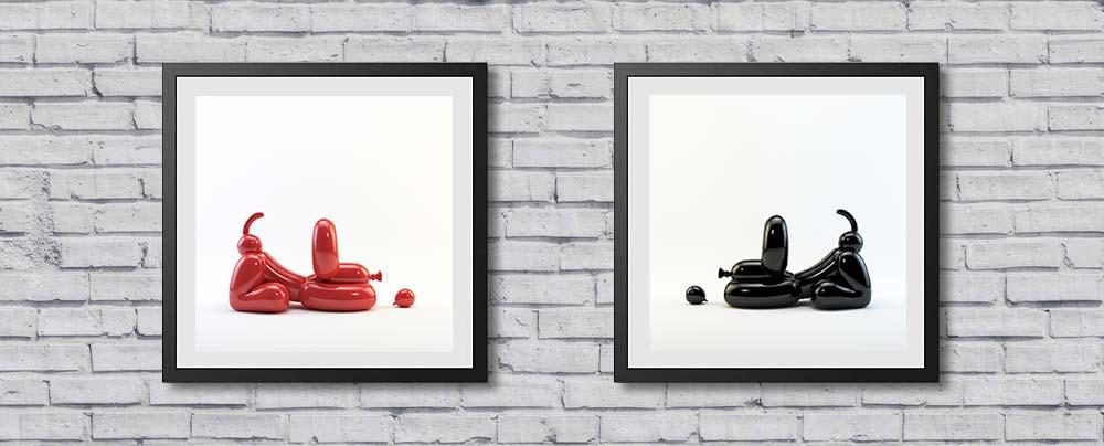 Happy-POPEK-prints-wall