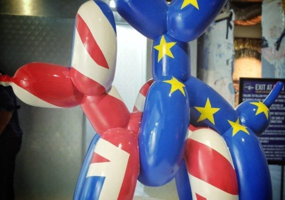 Brexit Balloon Dogs (2019)
