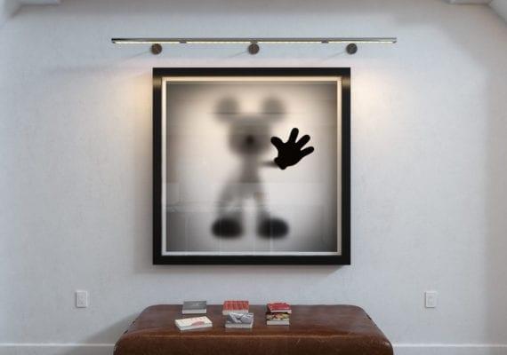 Gone Mickey 1.5 x 1.5 m (2020)