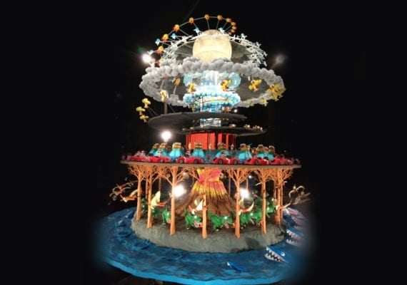 Giant Zoetrope – Singapore Science Center (2018)