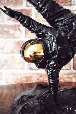 One Small Step Dark Side of the Moon sculpture by Whatshisname